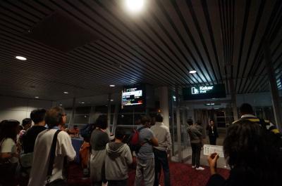 シルバーウィーク 3ヵ国めぐりの旅  ⑮9日目 帰国便で機材トラブル?