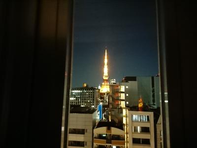 東京タワーが見える(安い)ホテルに泊まりたい!(^^;