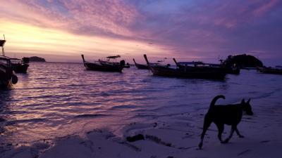 マレーシアのランカウイ島からタイのリペ島へ 5