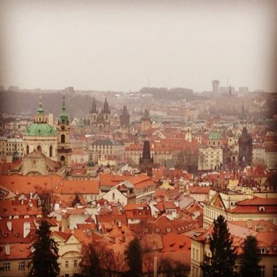 プラハ(Praha) 2日目(プラハ城、聖ヴィート大聖堂、ロレッタ教会、ストラホフ修道院)