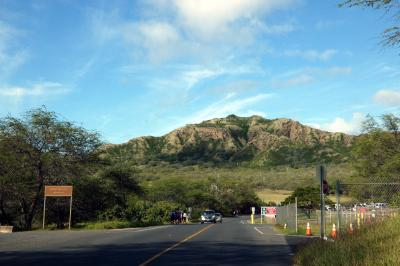 長男と行くハワイ3泊 車チャーター観光 ダイヤモンドヘッド・クレーター カハラルックアウト(ダイヤモンドヘッド展望台)