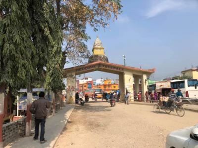 ネパール1日目 ルンビニ着