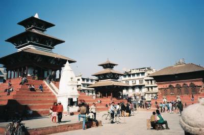 ヒマラヤが見たいとネパールへ 関空との直航便を使ってカトマンズ周辺を歩く=1994年12月