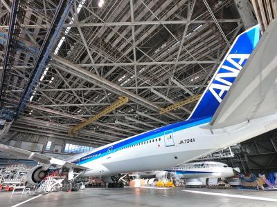 【2019国内】ANAハンガーカフェとANA機体整備工場