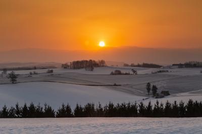 2019年冬、美瑛の絶景を巡る撮影行