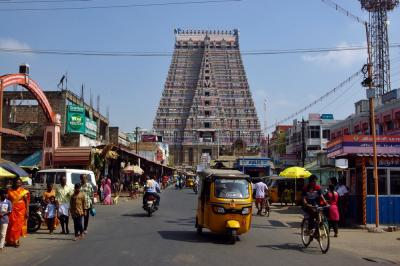 南インドの旅(チィルチィラパッリ)