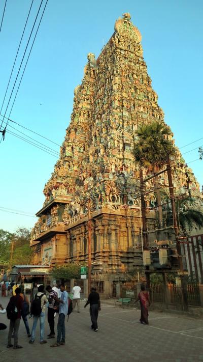 南インドの旅(マドゥライ)