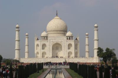 初めてのインドへ ④インドの至宝 タージ・マハル