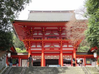町屋の片泊まりで巡る京都の桜2019  その7 近江神宮・旧大津公会堂でランチ・三井寺力餅