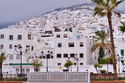 忘れられないモロッコの旅 2. 世界遺産の白い街ティトゥアン