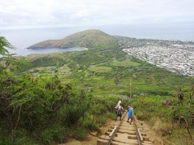 ハワイ7日目 ココトレイルとピルポックストレイル・植物園