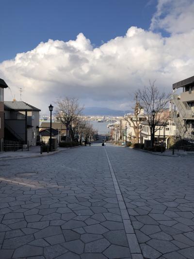 函館、小樽、札幌 春の二泊三日の旅その①
