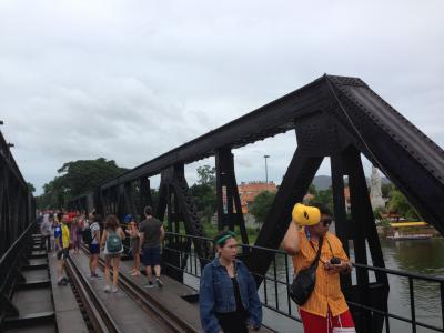 映画のロケ地へ(タイ・戦場にかける橋)