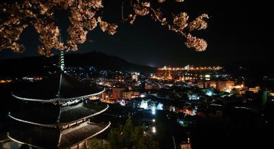 尾道さるく   心が癒される、春の夜桜