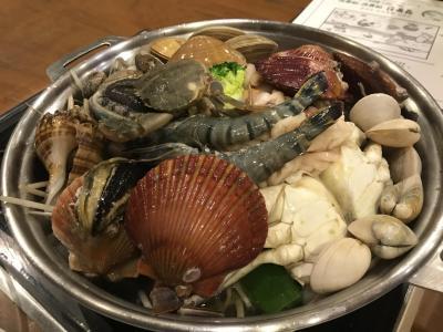 寒かった釜山、やっと食べれた海鮮鍋 -day3
