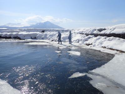 冬の北海道『大人の氷遊び in支笏湖』