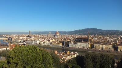 駆け足のイタリア旅行  ~フィレンツェ・ピサからイタロでナポリへ~