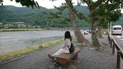 母娘旅 弾劾ツアー 日帰り京都の旅