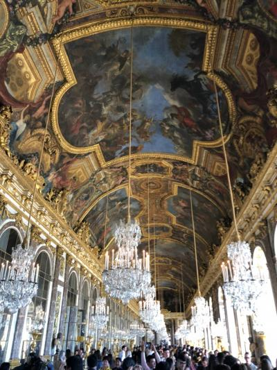 初めてのロンドン・パリ ⑥ ベルサイユ宮殿