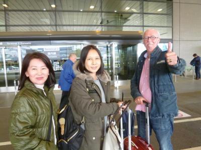 台湾から友人夫婦が遊びに来ました 2019/04/08
