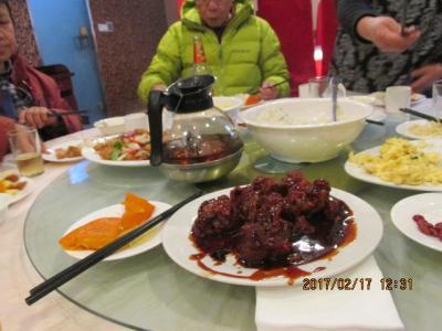江南周遊(30)恵山古鎮の客坊で昼食後唐城へ。
