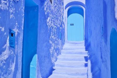忘れられないモロッコの旅 3.青い街シャウエン