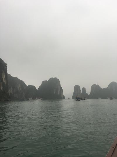初めてのベトナム旅行、ハノイ~ホーチミン(ハロン湾)