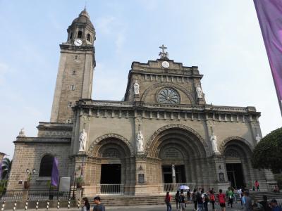 2019春 マニラ:初フィリピン、イントラムロスの城壁とマニラ大聖堂