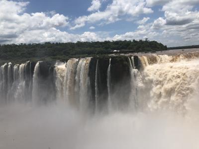 アルゼンチン編⑥プエルトイグアス 世界三大滝イグアスの滝へ!