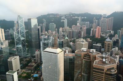 香港★たまには中環へ 無料で景色が眺められる場所 ~香港金管局・ifc~