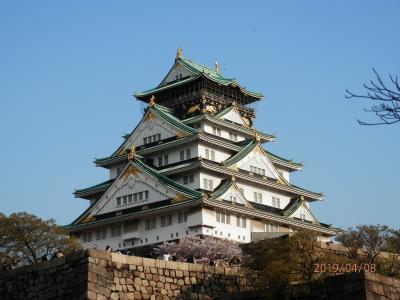 お城めぐり♪②大阪城