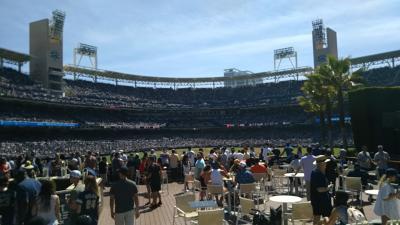サンディエゴ・メジャーリーグ観戦と市内観光 3日目