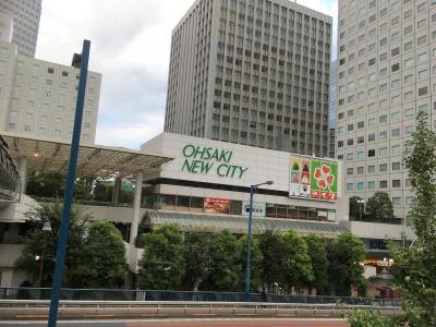 【東京の地下街を歩く旅】(8) 大崎副都心