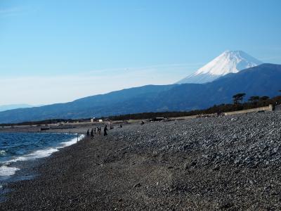 千本浜から見る富士山!! カメラを買ったので富士山を撮りに行こう~♪