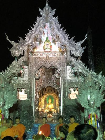 お初!チェンマイ(タイ)!! 旧市街地編 インスタ映えNo.1と噂されるシースパン寺。