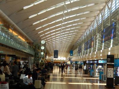 久しぶりに九州・福岡への旅行①東京(羽田)国際空港~横浜上空まで