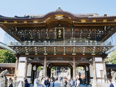 2019年 春 表参道で美味しい鰻と成田山新勝寺お詣り。