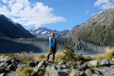 ニュージーランド トレッキング周回記 (②マウントクックRed Tarns Track/Kea point)