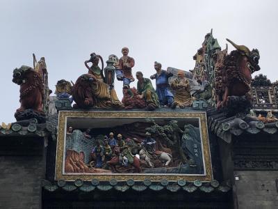 食は広州に在り!中国一のグルメ都市への旅(2018年広州⑦)~陳氏書院の名建築を堪能~