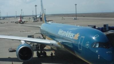 フーコック島までのベトナム航空とラウンジ行き帰り