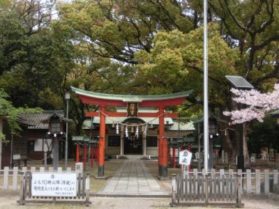 春の名古屋神社めぐり〇鳴海八幡宮、富部神社