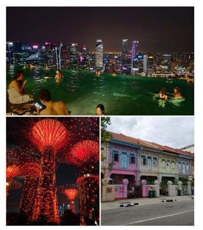 【おまけ】シンガポール・トランジット一人旅(マリーナベイサンズ、チャイナタウン、カトン地区など)