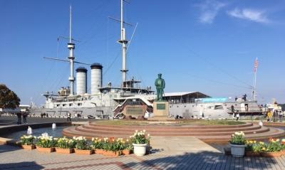 はとバスで行く横須賀、軍港と猿島、戦艦三笠をめぐる明治回顧の旅