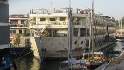 世界遺産:エジプト観光・Part5.豪華クルーズ客船