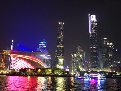 食は広州に在り!中国一のグルメ都市への旅(2018年広州⑨)~珠江ナイトクルーズで広州の夜景を満喫~