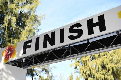 H29 お父ちゃん一人旅「ホノルルマラソンに出場しました」(4日目Vol.2 レース終了→携行品紹介)