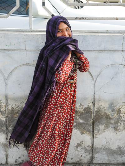 パキスタン フンザ2019・・・(2)カラコルムハイウェイ2日目 雪山とアンズの花 チラスからカリマバード