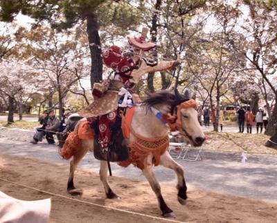 柳川~桜と北原白秋と流鏑馬~