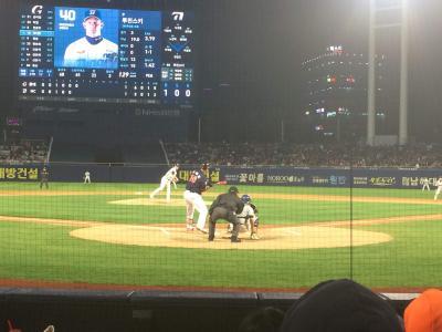 懐かしのイデホ 韓国プロ野球KBO観戦記 NCダイノスvsロッテジャイアンツ