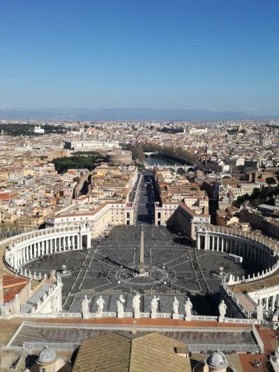 2019 ローマ&イタリアの小さな街+ちょっぴりイスタンブール ③ローマ1日目 ヴァチカン市国、トレヴィの泉など <後半>